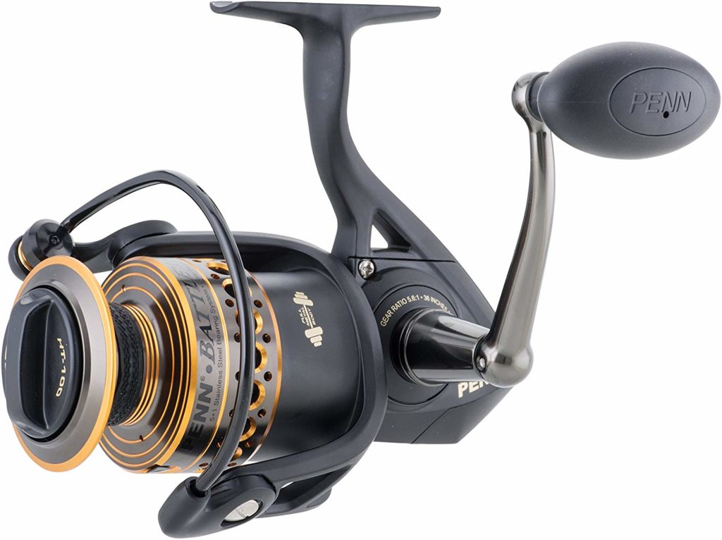 best saltwater spinning reels - penn battle 2