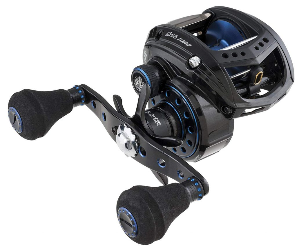 Abu Garcia Revo Toro Beast Low-Profile Baitcasting Fishing Reel