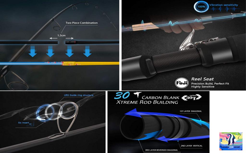 Cadence Spinning Rod, CR5-30