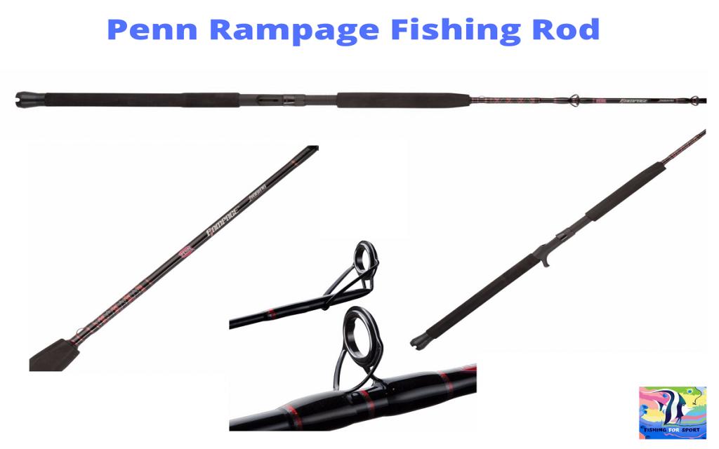 Penn Rampage  Spinning Fishing Rod