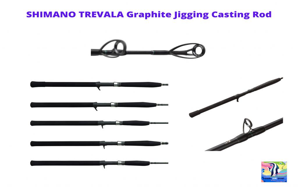 SHIMANO TREVALA Casting, Graphite Saltwater Jigging Casting Rod