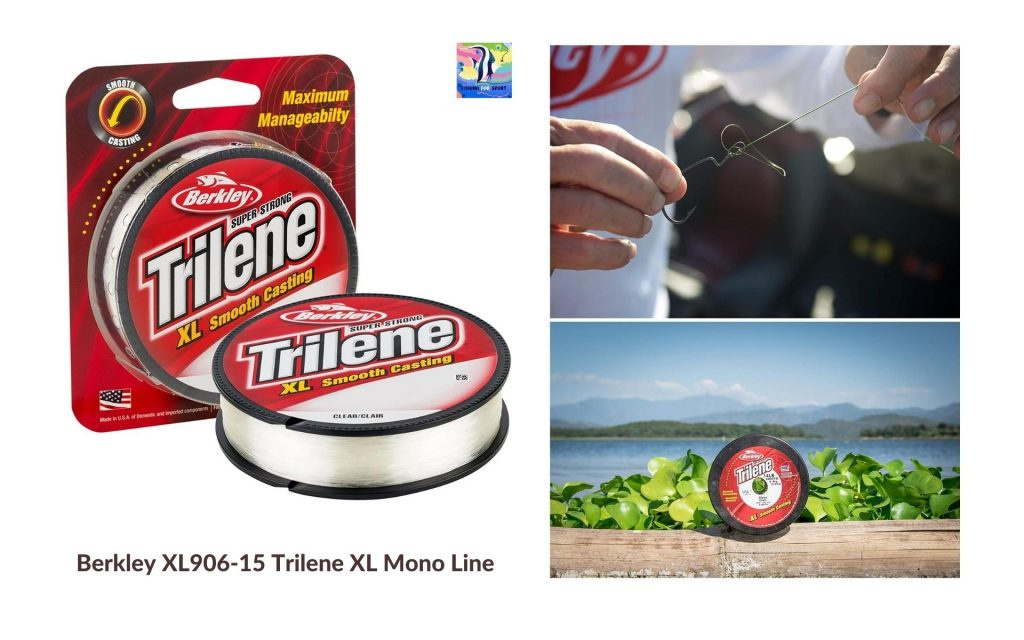 Berkley XL906-15 Trilene XL Mono Line - best fishing line for trout 2020