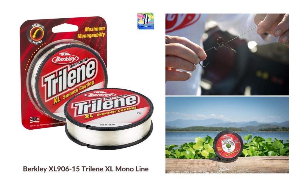 Berkley XL906-15 Trilene XL Mono Line - best fishing line for trout 2020