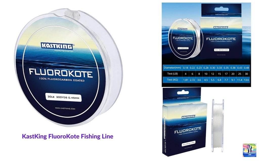 KastKing FluoroKote Fishing Line - best fishing line