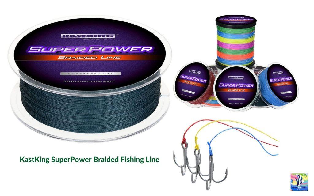 KastKing SuperPower Braided Fishing Line - best fishing line in 2020
