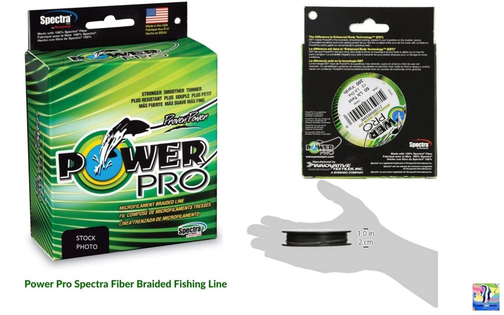Power Pro Spectra Fiber Braided Fishing Line - best fishing line for trout