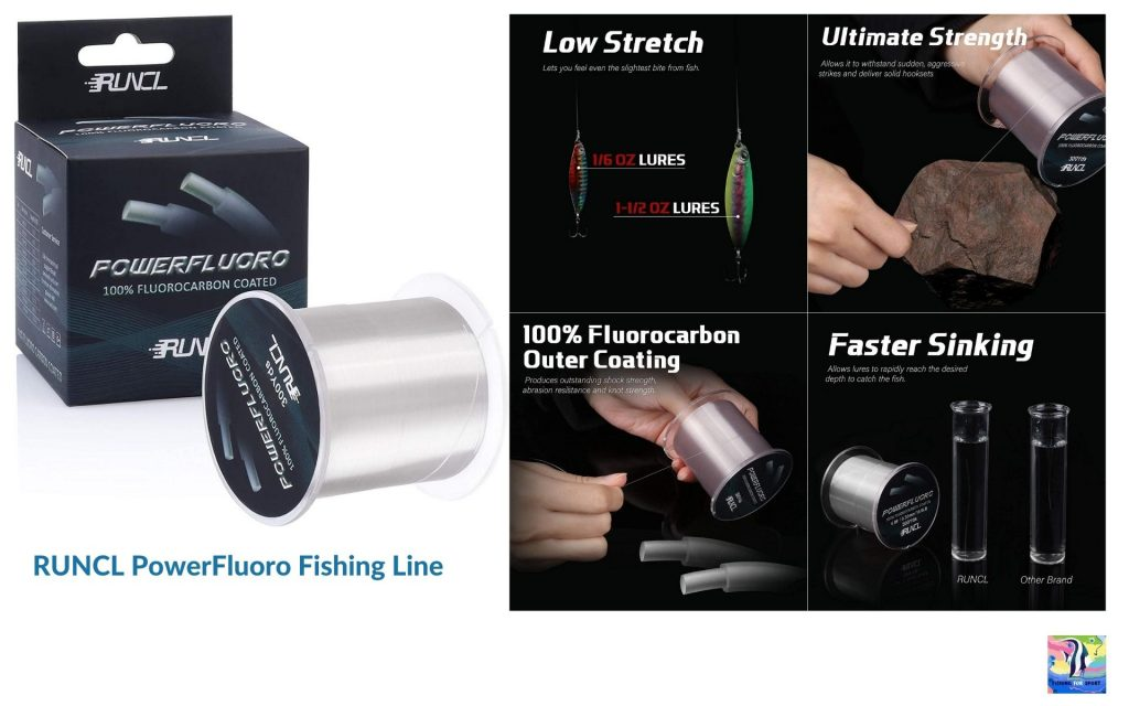 RUNCL PowerFluoro Fishing Line - best fishing line 2020
