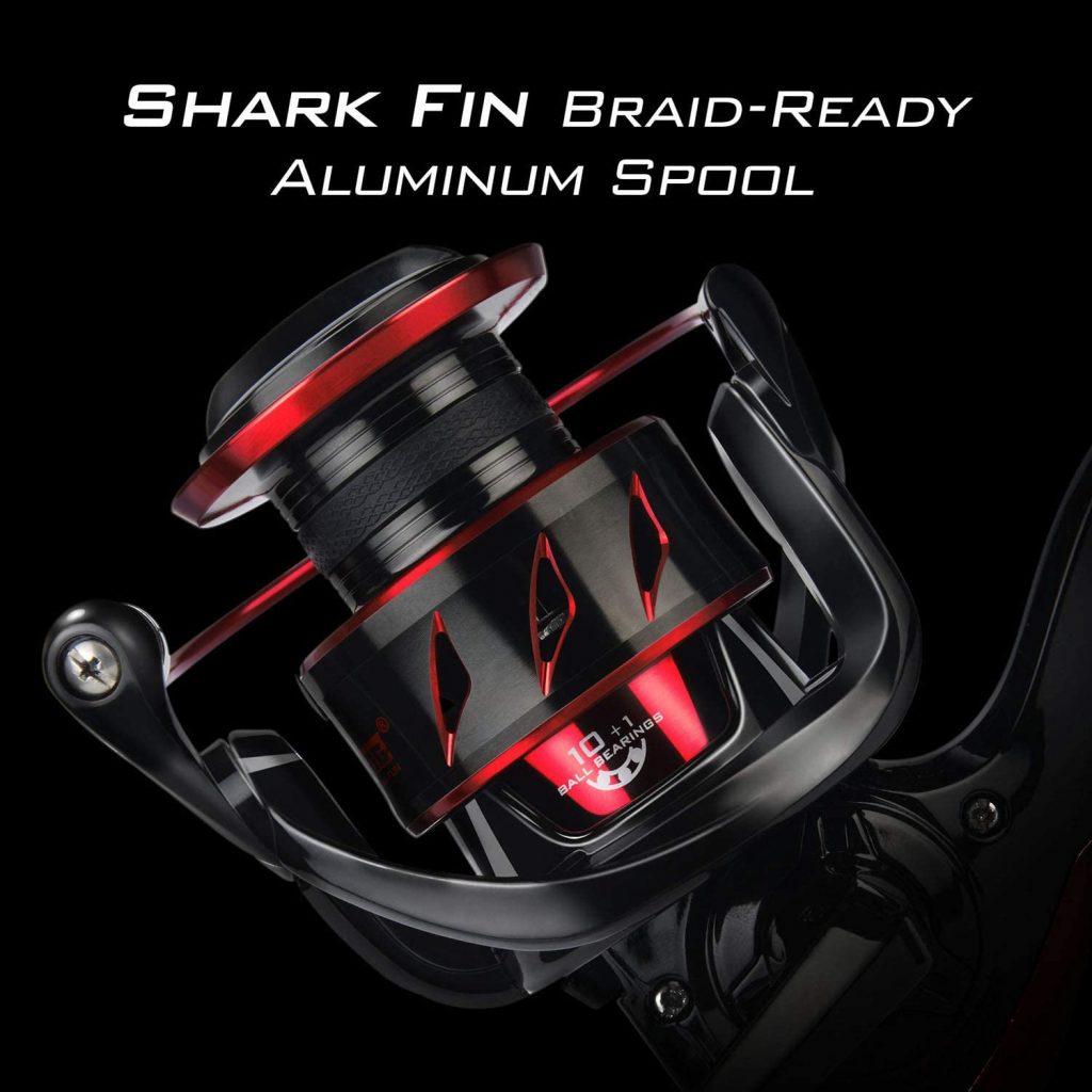 KastKing Sharky III review - Aluminum Spool feature