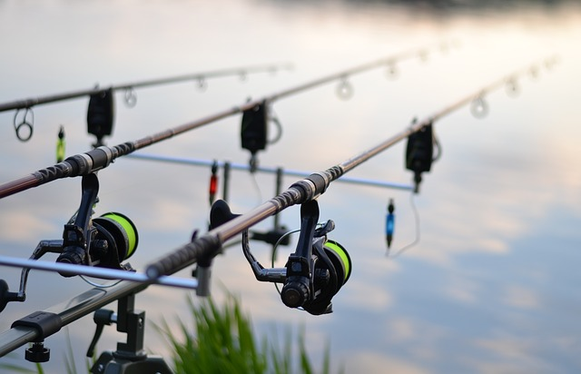 fishing rod by fishing for sport